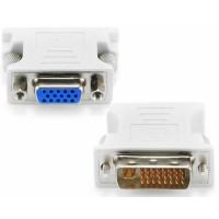 Adaptor DVI-I analogic tata la VGA mama ACTIVE 24+5pini, mufa dvi analog
