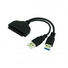 Adaptor USB 3.0 la SATA hard disk/ SSD hdd, Active, cu carcasa protectie
