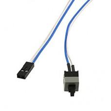 Cablu cu buton de Power / Pornire PC calculator de la carcasa la placa de baza, on/ off button