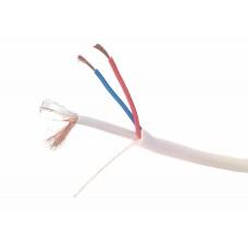 Cablu coaxial Cupru RG59 cu alimentare 0.5mm, la metru, Active, special pentru camere supraveghere video, cctv