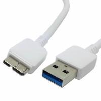 Cablu USB 3 tata - microUSB 3 tata, Active, 1m, alb