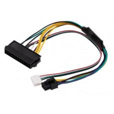 Cablu adaptor sursa alimentare de la ATX 24 pini la 2X 6 pini, Active, 30 CM, compatibil HP Z220, Z230