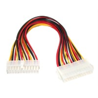 Cablu prelungitor sursa de la ATX 24 pini tata la BTX 24pini mama, 30 CM, pentru alimentare placa baza, adaptor
