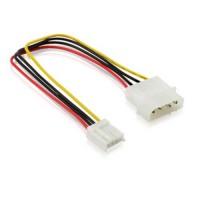 """Cablu Adaptor alimentare molex (ide) la 3.5"""" floppy 4 pini fdd"""