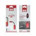 Cablu adaptor Type-C, Earldom, Spliter 2 in 1, mufa audio jack mama 3.5mm Casti/Boxe si Incarcare Type C, Cupru, carcasa aluminiu, negru, 12cm