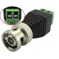 Set 8 conectori BNC cu 2 borne prindere, mufa tata, camere supraveghere video, pentru orice cablu (coaxial, retea, electric)