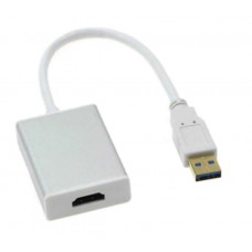 Adaptor USB 3.0 la HDMI, Active, convertor iesire HDMI spre TV