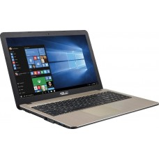 Notebook ASUS X541NA 15.6'' Celeron DC N3350 4GB 500GB DVD-RW Endless Chocolate Black