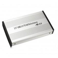 Carcasa Rack Extern Hard Disk 3.5inch, USB 2.0, hdd s-ata, alimentare externa