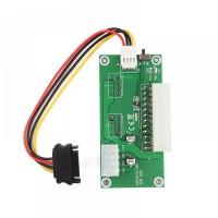 Placa adaptor sursa ATX 24 pini, conectare/ sincronizare doua surse pentru mining, molex 4 pin