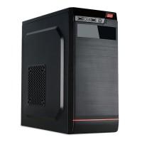 Carcasa RPC fara sursa, AB550BC , Middle Tower ATX, 2xUSB2.0, HD audio, vent. opt.: spate 8/9cm, lateral 8/12cm, 3.6kg, negru