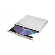 DVD-Writer extern USB, LiteOn, Super-Slim, ultra-light, alb, dvd-rw