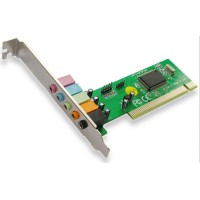 PCI 5.1 Sound Card, Active, chipset CMI8738, audio card