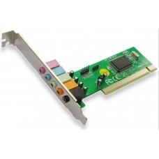 PCI 5.1 Sound Card, Active, chipset CMI8738, audio card