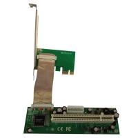 PCI-Express 1.0 to PCI adapter board, Active ASM1083, pci-e - pci