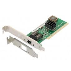 Placa Retea PCI Gigabit Ethernet, chip RTL8169, Active, internet 10/100/1000M, 1Gb, low profile bracket optional
