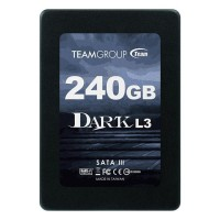 SSD 240 Gb Team Group L3 Dark,  2.5'', SATA3, 520/300 Mb/S, Solid State Drive