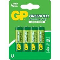 Baterii Greencell AA / R6, 1.5v, Zinc, Set Blister cu 4 buc.