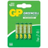 Baterii Greencell AAA / R3, 1.5v, Zinc, Set Blister cu 4 buc.