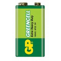 Baterii Greencell 6F22, 9v, Baterie Zinc Carbon, Blister cu 1 buc.