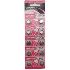 Set 10buc. blister Baterie tip buton 1.55V AG10/ LR54/ LR1130/  baterii alkaline