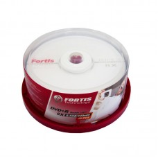 Set 25 buc. DVD+R Fortis Double Layer, 8.5GB, 8x