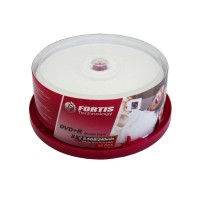 Set of 25 pcs. DVD+R Fortis Double Layer, 8.5GB, 8x