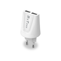 Incarcator Detech compatibil Telefoane, iesire 2 x USB, 5V, 2.1A