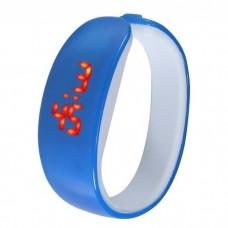 Ceas sport LED Active Dolphin, Digital, unisex, rezistent la contactul cu apa, diverse culori