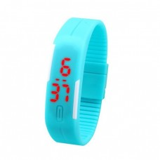 Silicone LED Sport watch Active Military, unisex, adjustable bracelet