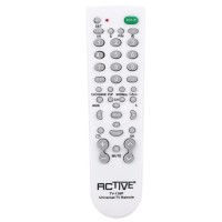 Universal TV remote control with auto-search function, ACTIVE, for non smart TVs