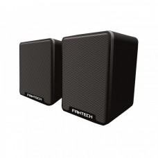 Speakers 2.0 Fantech GS733, 6W, stereo, rubber membrane with 45mm speaker, USB power, 1 x 3.5mm jack, black