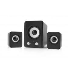 Sistem Boxe 2.1 Kisonli U2200, 11W, stereo, membrana cauciuc, subwoofer, alimentare usb, 1 x jack 3.5mm, calitate deosebita, sunet clar
