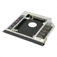 Rack hard disk Caddy sata pentru laptop, Active, grosime 12.7mm, adaptor hdd/ssd s-ata 2.5""