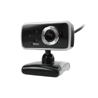 Webcam with microphone, Kisonli K-005, 3 LED light