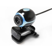 Webcam with built-in microphone, Media-Tech MT4047, plug and play