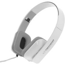 Headphones Esperanza EH143W, Stereo, white, rectangular form