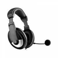Casti cu microfon OK-2010, stereo, negru, model mare