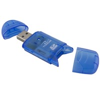 Card Reader Titanum TA101B, USB 2.0, cititor extern carduri SDHC 480 Mb/s