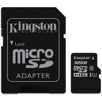 Card microSD 32Gb cu adaptor SDHC, clasa 10, Kingston