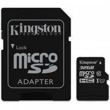 Card microSD 32Gb cu adaptor SDHC, clasa 10, Kingston