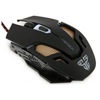 Mouse Gaming Fantech Kael V2, USB, 2400 dpi, optic, 6 butoane, iluminare multicolora