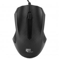 Optical Mouse Fantech T530, Black, USB, 1000 dpi, 3 buttons, 1.4M cable