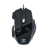 Mouse Gaming iluminat ZornWee Revival Z03, Negru, USB, 3200 dpi, optic, 6 butoane