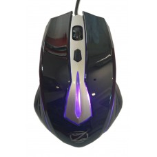Mouse Gaming ZORNWEE Z036, USB, 1000 dpi, optical, 4 buttons, cable 1.4M, multicolor lighting system