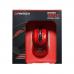 Mouse Wireless PRO Gaming Fantech WG7, USB, 2000 dpi, optic, fara fir, baterii incluse , alb/ negru