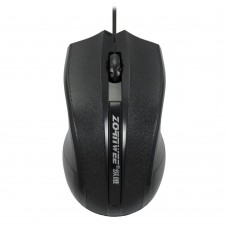 Gaming Mouse ZORNWEE GM-01 Counter Attack , Black, USB, 1800 dpi, optical, 3 buttons, 1.2M Cable, large size