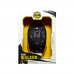 Mouse Gaming Iluminat ZORNWEE XG68, USB, Negru, 1200 dpi, optic, 3 butoane, cablu 1.4M