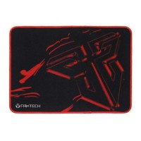 MousePad Gaming FanTech, 25x21x2cm, Negru/Rosu, protectie anti alunecare Pad
