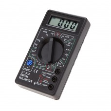 Universal multimeter Active DT830b, black, BATTERY INCLUDED
